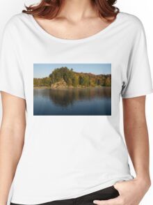 Bright and Sunny Fall Reflections Women's Relaxed Fit T-Shirt