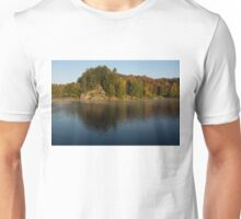 Bright and Sunny Fall Reflections Unisex T-Shirt