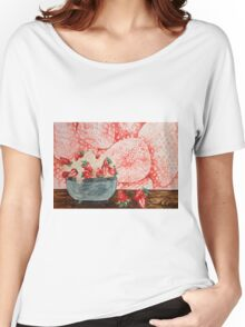 Strawberries Women's Relaxed Fit T-Shirt