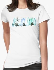 Watercolor maids Womens Fitted T-Shirt