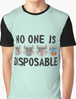 Disposable Graphic T-Shirt