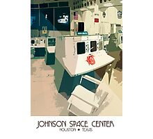 Johnson Space Center Photographic Print