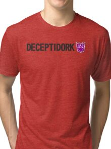 DECEPTIDORK Tri-blend T-Shirt