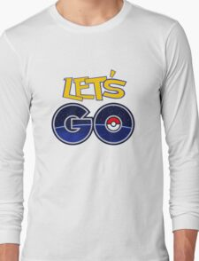 pokemon go Long Sleeve T-Shirt