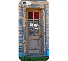 Doorway to Barracks  iPhone Case/Skin
