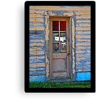 Doorway to Barracks  Canvas Print