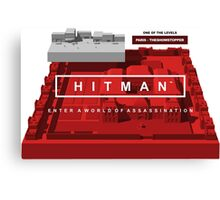 Hitman 6 Canvas Print