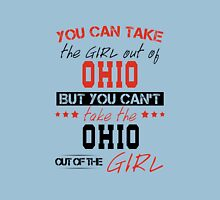 Can't take the Ohio out of the Girl Womens Fitted T-Shirt