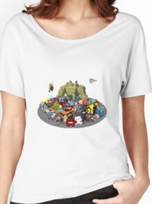 Indie Game Collage Women's Relaxed Fit T-Shirt