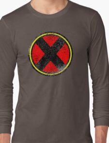 X-men Inspired Logo Long Sleeve T-Shirt