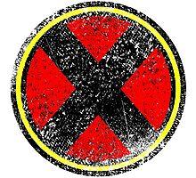 X-men Inspired Logo Photographic Print