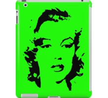 Marilyn Monroe #1 (black & white) iPad Case/Skin