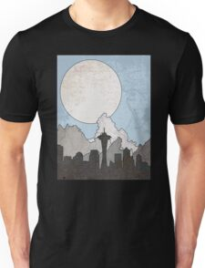 Map to the Pacific Northwest Unisex T-Shirt
