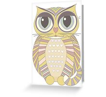 Big-Eyed Cat Greeting Card