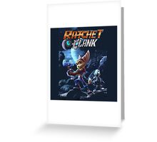 ratchet and clank movie Greeting Card