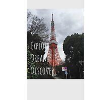 Explore: Tokyo Tower  Photographic Print