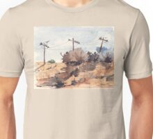 A gathering in the cold Unisex T-Shirt