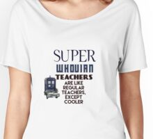 Perfect For The Supernatural /Doctor Who Fan! Women's Relaxed Fit T-Shirt