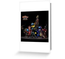 ratchet and clank up the arsenal Greeting Card