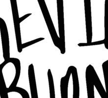 mistrkevinburns Designs LOGO  Sticker