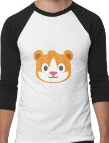Hamster emoji Men's Baseball ¾ T-Shirt