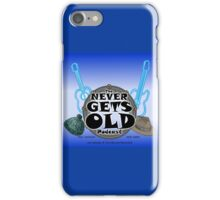 The Never Gets Old Logo music and adventure iPhone Case/Skin