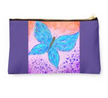 Blue Butterfly Studio Pouch