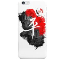 PEACE - LUCKY KOI INK PRINT iPhone Case/Skin