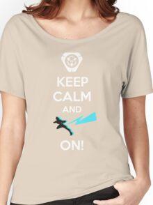 Keep Calm, loves! Women's Relaxed Fit T-Shirt