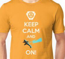 Keep Calm, loves! Unisex T-Shirt
