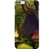 traveling forest child iPhone Case/Skin