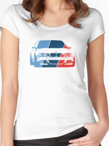 E36 in M colors Women's Fitted Scoop T-Shirt