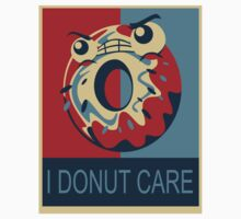 I Donut Care One Piece - Short Sleeve