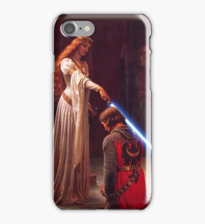 Knighthing in Light iPhone Case/Skin