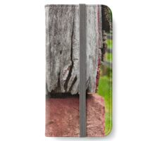 Old weathered wall iPhone Wallet/Case/Skin