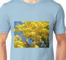 Golden Yellow Wattle Unisex T-Shirt