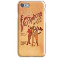 BioShock Infinite – Record Your Own Voxophone Poster iPhone Case/Skin