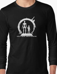 OB Logo Anna White Long Sleeve T-Shirt