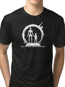 OB Logo Anna White Tri-blend T-Shirt