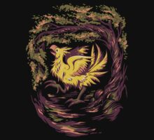 Chocobo with Blossoms Kids Tee