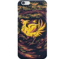 Chocobo with Blossoms iPhone Case/Skin