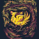 Chocobo with Blossoms by Rebekie Bennington