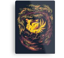 Chocobo with Blossoms Metal Print
