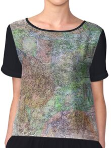 The Atlas Of Dreams - Color Plate 26 Chiffon Top