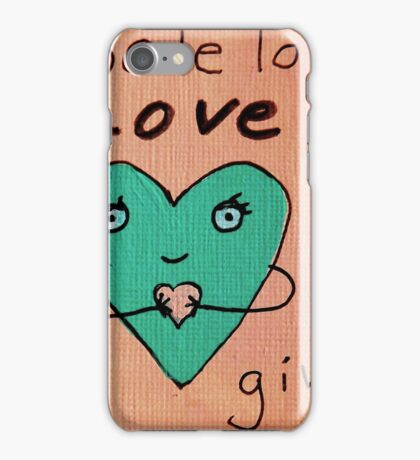 """""""whole lot of love to give""""  iPhone Case/Skin"""