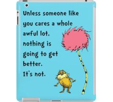 Unless Some One Like You iPad Case/Skin