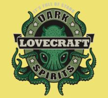 Lovecraft Dark Spirits - dark print One Piece - Short Sleeve