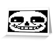 Sans from Undertale! Greeting Card