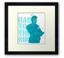 Hologram!Handsome Jack: Hail To The King Framed Print