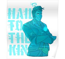 Hologram!Handsome Jack: Hail To The King Poster